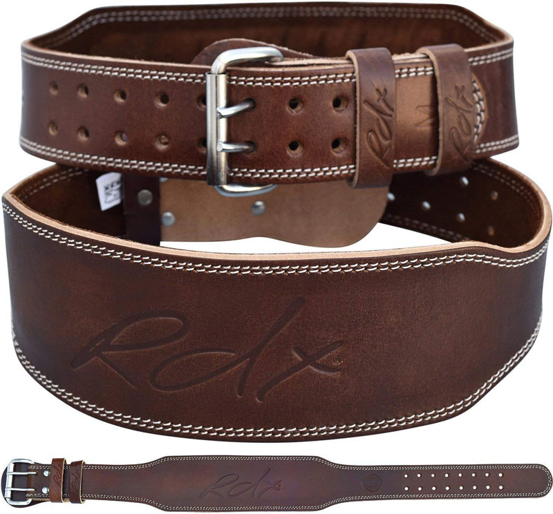RDC Cowhide weightlifting belt top 25 holiday gift ideas for gym obsessed bros