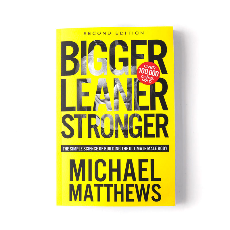 Bigger Leaner Stronger book as gift idea for gym obsessed bros 2018