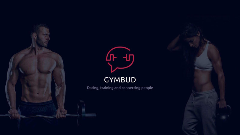Gymbud dating app homepage